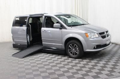 Handicap Van for Sale - 2017 Dodge Grand Caravan SXT Wheelchair Accessible Van VIN: 2C4RDGCG8HR600571