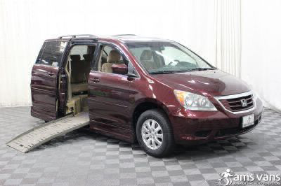 Used Wheelchair Van for Sale - 2010 Honda Odyssey EX Wheelchair Accessible Van VIN: 5FNRL3H41AB031185