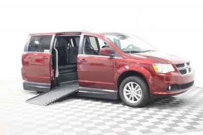New Wheelchair Van for Sale - 2018 Dodge Grand Caravan SXT Wheelchair Accessible Van VIN: 2C4RDGCG6JR135844