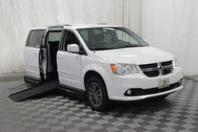Handicap Van for Sale - 2017 Dodge Grand Caravan SXT Wheelchair Accessible Van VIN: 2C4RDGCG9HR789361