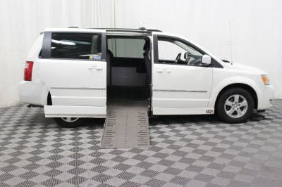 Used Wheelchair Van for Sale - 2010 Dodge Grand Caravan SXT Wheelchair Accessible Van VIN: 2D4RN5D12AR232750