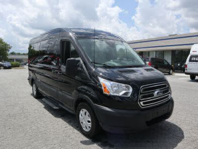 New Wheelchair Van for Sale - 2019 Ford Transit Passenger Mid-Roof 350 XLT - 15 Wheelchair Accessible Van VIN: 1FBAX2CM5KKA47501