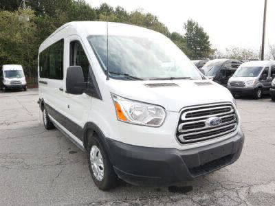 New Wheelchair Van for Sale - 2019 Ford Transit Passenger Mid-Roof 350 XLT - 15 Wheelchair Accessible Van VIN: 1FBAX2CM9KKA76158