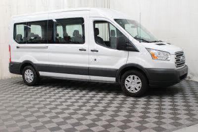 Commercial Wheelchair Vans for Sale - 2017 Ford Transit Wagon 350 XLT 15 ADA Compliant Vehicle VIN: 1FBAX2CM3HKB12998