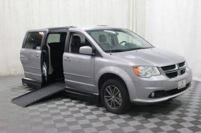 Handicap Van for Sale - 2017 Dodge Grand Caravan SXT Wheelchair Accessible Van VIN: 2C4RDGCG3HR689935