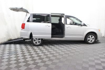 Commercial Wheelchair Vans for Sale - 2011 Dodge Grand Caravan Crew ADA Compliant Vehicle VIN: 2D4RN5DG8BR689200