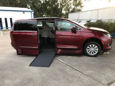 Handicap Van for Sale - 2018 Chrysler Pacifica Touring L Wheelchair Accessible Van VIN: 2C4RC1BG8JR110719