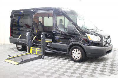Commercial Wheelchair Vans for Sale - 2018 Ford Transit Passenger 350 XLT ADA Compliant Vehicle VIN: 1FBAX2CMXJKA43166