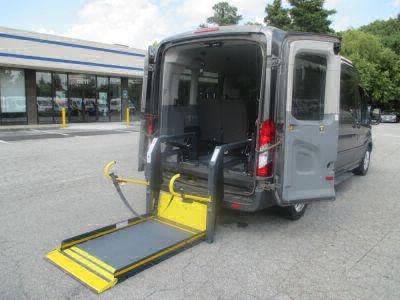 Commercial Wheelchair Vans for Sale - 2016 Ford Transit Passenger 350 XLT ADA Compliant Vehicle VIN: 1FBAX2CM9GKA56225