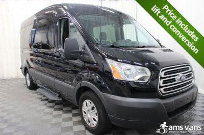 Commercial Wheelchair Vans for Sale - 2017 Ford Transit Wagon 350 XLT 15 ADA Compliant Vehicle VIN: 1FBAX2CM7HKB13832