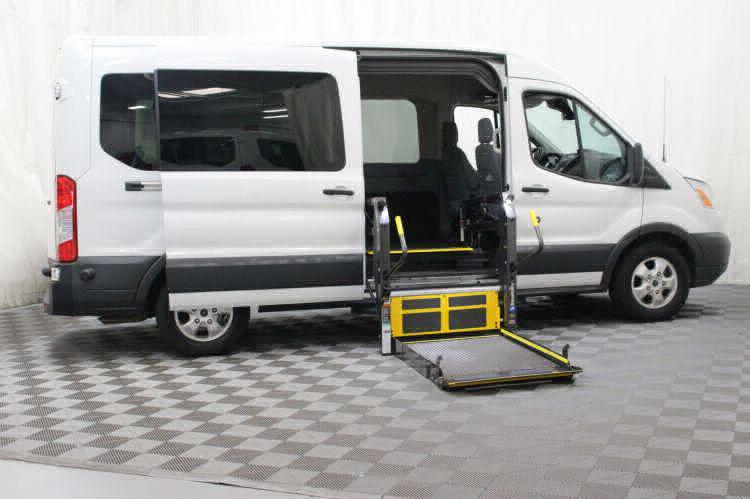 2017 Ford Transit Passenger 350 XLT 15 Wheelchair Van For Sale #1