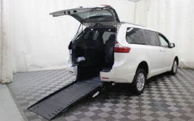 Commercial Wheelchair Vans for Sale - 2016 Toyota Sienna XLE ADA Compliant Vehicle VIN: 5TDYK3DC4GS756604
