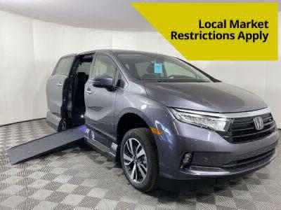 Handicap Van for Sale - 2021 Honda Odyssey TOURING Wheelchair Accessible Van VIN: 5FNRL6H87MB033953