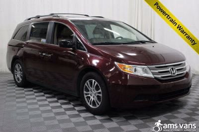 Handicap Van for Sale - 2013 Honda Odyssey EX-L w/DVD Wheelchair Accessible Van VIN: 5FNRL5H63DB008640