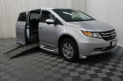 Used Wheelchair Van for Sale - 2014 Honda Odyssey EX-L w/Navi Wheelchair Accessible Van VIN: 5FNRL5H64EB041325