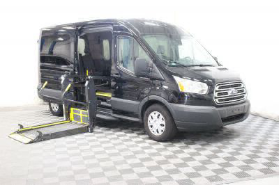 Commercial Wheelchair Vans for Sale - 2018 Ford Transit Passenger 350 XLT 15 ADA Compliant Vehicle VIN: 1FBAX2CM4JKA01561