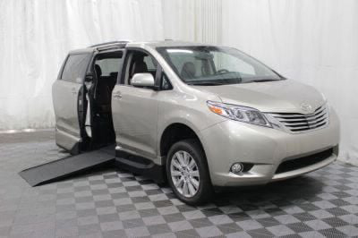 Commercial Wheelchair Vans for Sale - 2017 Toyota Sienna Limited ADA Compliant Vehicle VIN: 5TDYZ3DC5HS839164