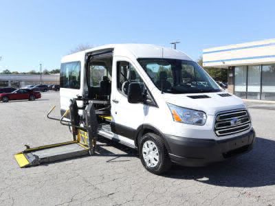 Commercial Wheelchair Vans for Sale - 2019 Ford Transit Passenger 350 XLT ADA Compliant Vehicle VIN: 1FBAX2CM5KKA32383