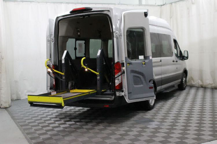 2018 Ford Transit Wagon 350 XLT-HD 15 Wheelchair Van For Sale #7