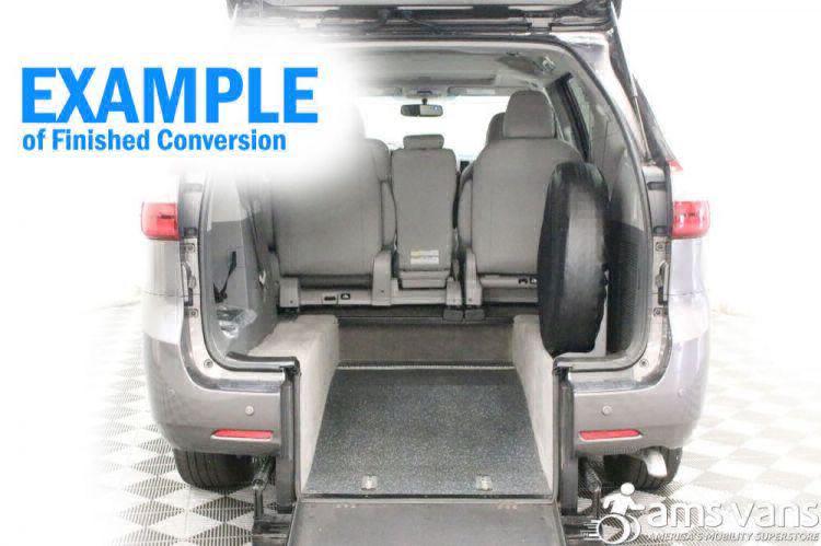 2017 Toyota Sienna XLE Wheelchair Van For Sale #3
