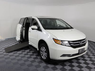 Used Wheelchair Van for Sale - 2016 Honda Odyssey EX-L Wheelchair Accessible Van VIN: 5FNRL5H66GB085944