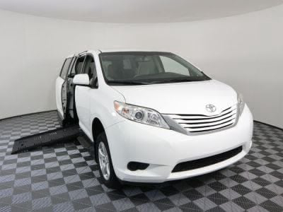 New Wheelchair Van for Sale - 2017 Toyota Sienna LE Standard Wheelchair Accessible Van VIN: 5TDKZ3DC8HS822428