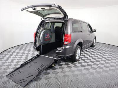 Handicap Van for Sale - 2018 Dodge Grand Caravan SXT Wheelchair Accessible Van VIN: 2C4RDGCG7JR205996