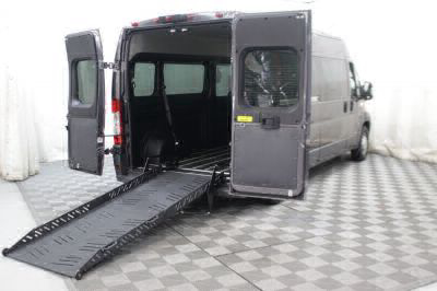New Wheelchair Van for Sale - 2018 Ram ProMaster Window 2500 159 WB Wheelchair Accessible Van VIN: 3C7WRVPG7JE129929