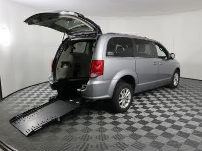 Handicap Van for Sale - 2019 Dodge Grand Caravan SXT Wheelchair Accessible Van VIN: 2C4RDGCG0KR689365