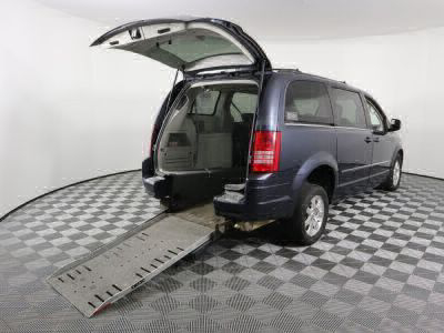 Commercial Wheelchair Vans for Sale - 2009 Chrysler Town & Country Touring ADA Compliant Vehicle VIN: 2A8HR54169R674058