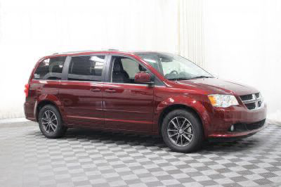 Commercial Wheelchair Vans for Sale - 2017 Dodge Grand Caravan SXT ADA Compliant Vehicle VIN: 2C4RDGCG7HR864851