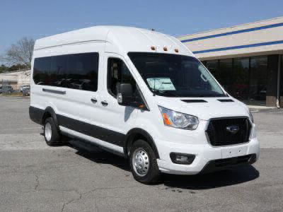 Commercial Wheelchair Vans for Sale - 2021 Ford Transit Passenger High Roof 350 HD XLT - 15 ADA Compliant Vehicle VIN: 1FBVU4XG3MKA04658