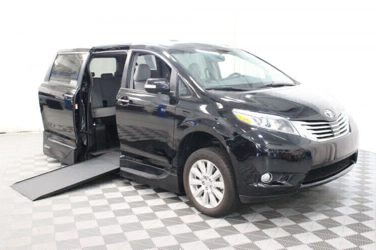 2017 Toyota Sienna Limited Wheelchair Van For Sale #1