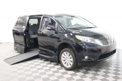 Commercial Wheelchair Vans for Sale - 2017 Toyota Sienna Limited ADA Compliant Vehicle VIN: 5TDYZ3DC2HS842524