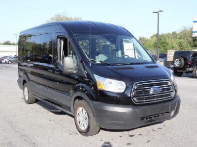 Commercial Wheelchair Vans for Sale - 2019 Ford Transit Passenger 350 XLT ADA Compliant Vehicle VIN: 1FBAX2CM3KKA41289