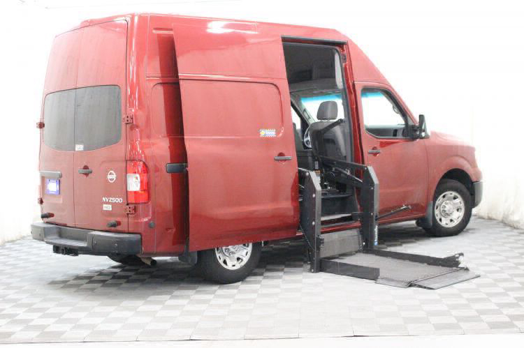 2016 Nissan NV Cargo 2500 HD S Wheelchair Van For Sale #4