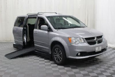 Handicap Van for Sale - 2017 Dodge Grand Caravan SXT Wheelchair Accessible Van VIN: 2C4RDGCG4HR754078