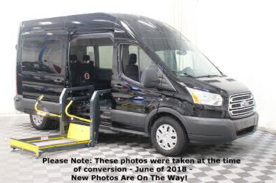 Commercial Wheelchair Vans for Sale - 2017 Ford Transit Passenger 350 XLT ADA Compliant Vehicle VIN: 1FBAX2XG1HKA55592