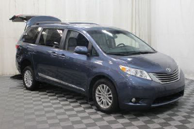 Commercial Wheelchair Vans for Sale - 2016 Toyota Sienna XLE ADA Compliant Vehicle VIN: 5TDYK3DC9GS702196