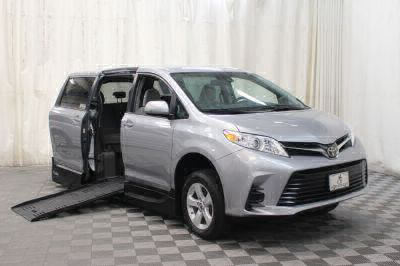 New Wheelchair Van for Sale - 2018 Toyota Sienna LE Wheelchair Accessible Van VIN: 5TDKZ3DCXJS927137