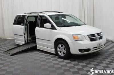 Used Wheelchair Van for Sale - 2010 Dodge Grand Caravan SXT Wheelchair Accessible Van VIN: 2D4RN5D12AR120191