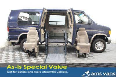 Used Wheelchair Van for Sale - 2004 Ford Econoline E250 E-250 SD Wheelchair Accessible Van VIN: 1FDNE24L34HB50095