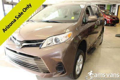 Handicap Van for Sale - 2019 Toyota Sienna LE Wheelchair Accessible Van VIN: 5TDKZ3DC6KS978071