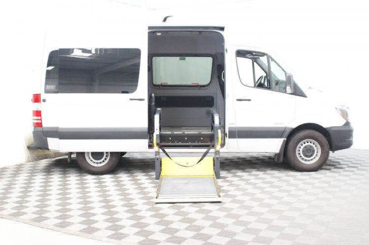 Used 2016 Mercedes-Benz Sprinter 2500 144 WB Wheelchair Van