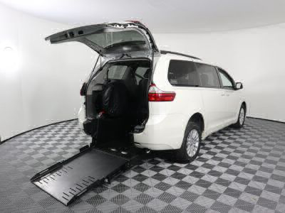 New Wheelchair Van for Sale - 2017 Toyota Sienna XLE Wheelchair Accessible Van VIN: 5TDYZ3DC1HS847648