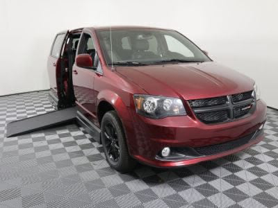 Handicap Van for Sale - 2019 Dodge Grand Caravan SXT Wheelchair Accessible Van VIN: 2C7WDGCGXKR796218
