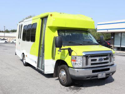 Used Wheelchair Van for Sale - 2014 Ford F450 E-450 SD Wheelchair Accessible Van VIN: 1FDEE4FL8EDA05992