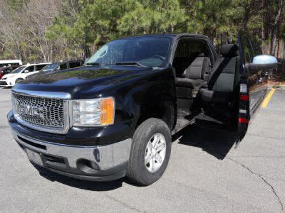 Used Wheelchair Van for Sale - 2011 GMC Sierra 1500 SLE Wheelchair Accessible Van VIN: 3GTP1VE03BG354742