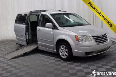 Handicap Van for Sale - 2010 Chrysler Town & Country Touring Wheelchair Accessible Van VIN: 2A4RR5D19AR463351