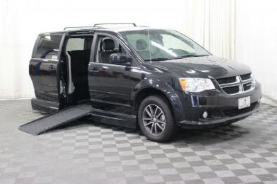 Handicap Van for Sale - 2017 Dodge Grand Caravan SXT Wheelchair Accessible Van VIN: 2C4RDGCG5HR558392